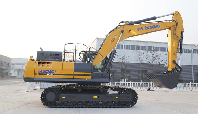 XCMG 36 Ton Large Mine Crawler Excavator XE360U China Mining Excavators For Sale
