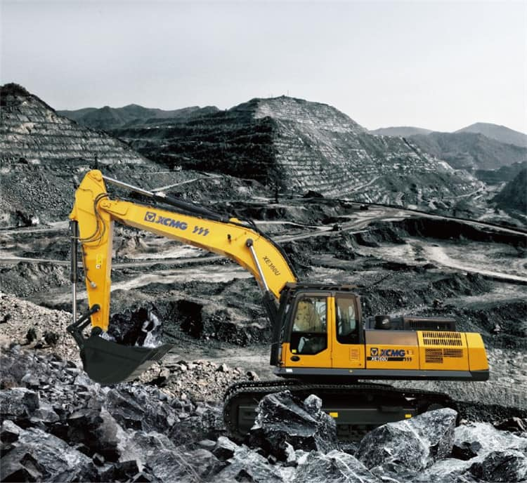 XCMG 36 Ton Large Mine Crawler Excavator XE360U China Mining Excavator For Sale