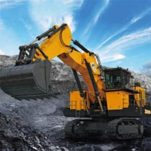 XCMG 400 Ton Hydraulic Underground Mining Excavator Equipment XE4000 Price