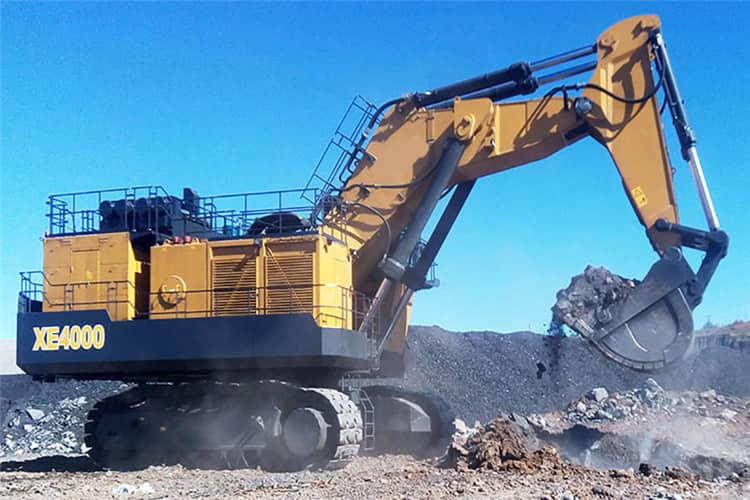 XCMG Official 400 ton Mining Excavator XE4000 for sale