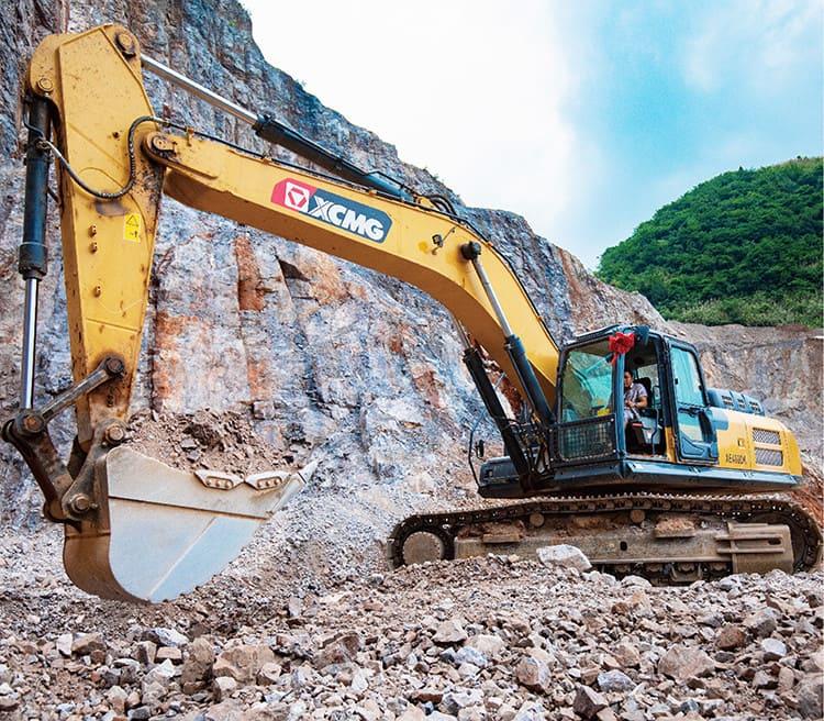 XCMG 40 ton Mining Construction Equipment XE400DK Big Excavator With Bucket Teeth