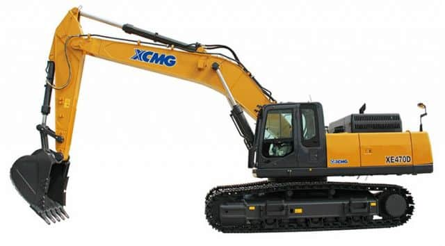 China XCMG Official Manufacturer 50 Ton Crawler Excavator XE470D Hydraulic Mining Excavator Machine