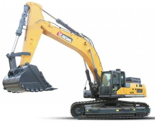 XCMG 50 Ton Large Mining Excavator XE520DK With Rock Breaker Excavator Machine For Sale