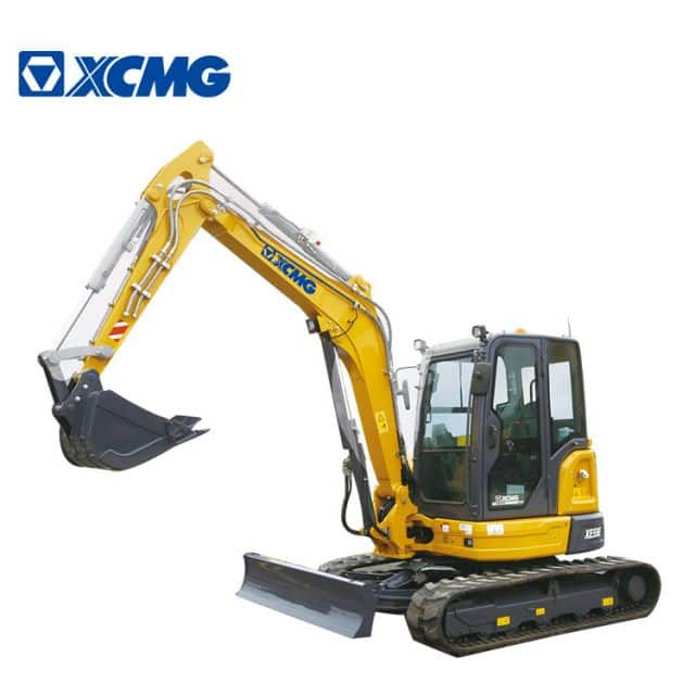 XCMG Official 5 ton Mini Excavators XE55E China New Small Crawler Excavator With CE (Euro Stage V) for sale
