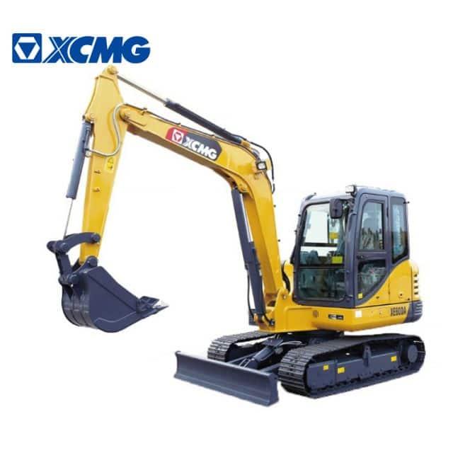 XCMG official 6 ton mini hydraulic crawler excavator XE60DA multifunction excavator machine price