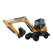 XCMG official manufacturer XE60WA Wheel Excavator for sale