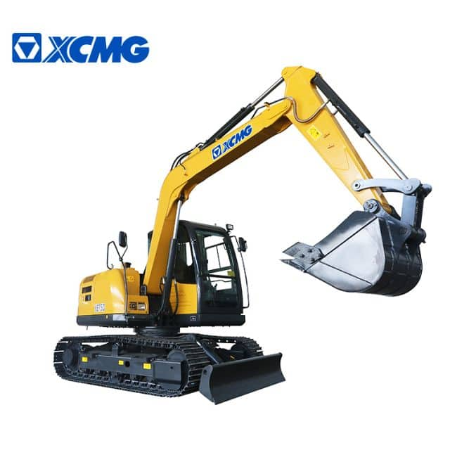 XCMG 7 ton excavator XE75D china mini hydraulic crawler excavator construction equipment price