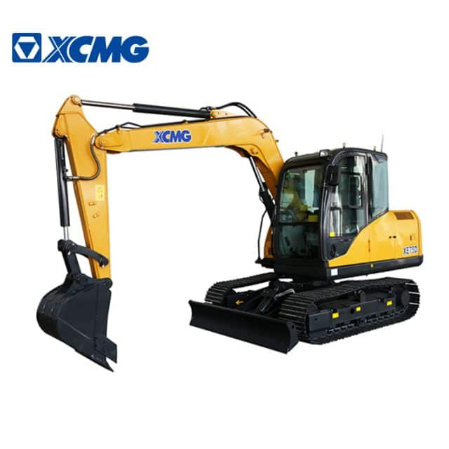 XCMG official 8 ton mini crawler excavator XE75DA multifunction hydraulic excavator for sale