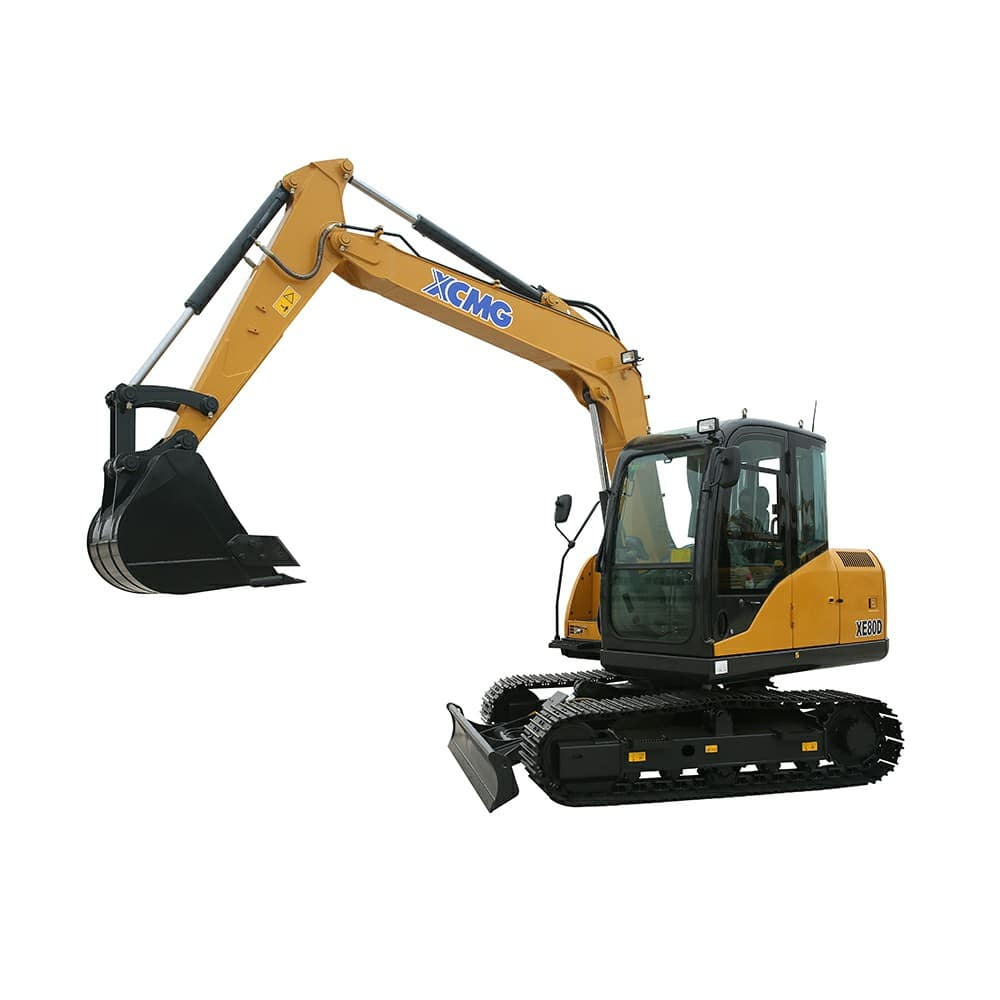 XCMG Official XE80D Crawler Excavator for sale