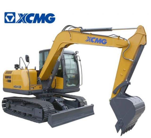 XCMG 8 Ton Small Excavators XE85D Chinese Cheap Crawler Excavator Digger Machine For Sale