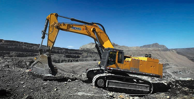 XCMG 90 Ton Mining Excavator Large Hydraulic Crawler Excavator XE900D With Cummins Engine Price