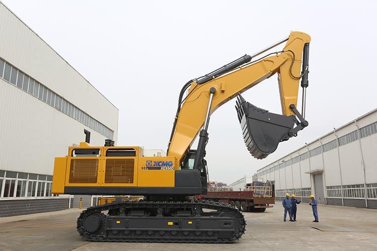 XCMG 90 Ton 6cbm Large Mining Crawler Excavator Machine XE950D With Cummins Engine For Sale