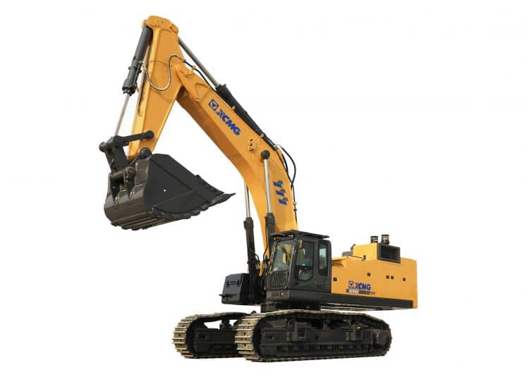 XCMG Official XE950DH mining hybrid hydraulic excavator for sale