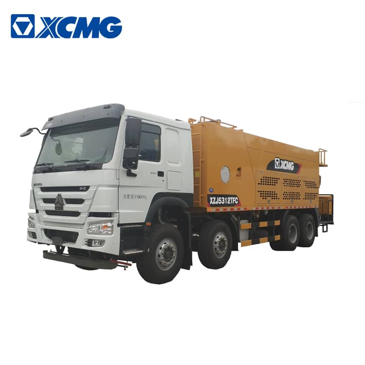 XCMG microsurfacing slurry seal XF1003 asphalt road maintenance truck