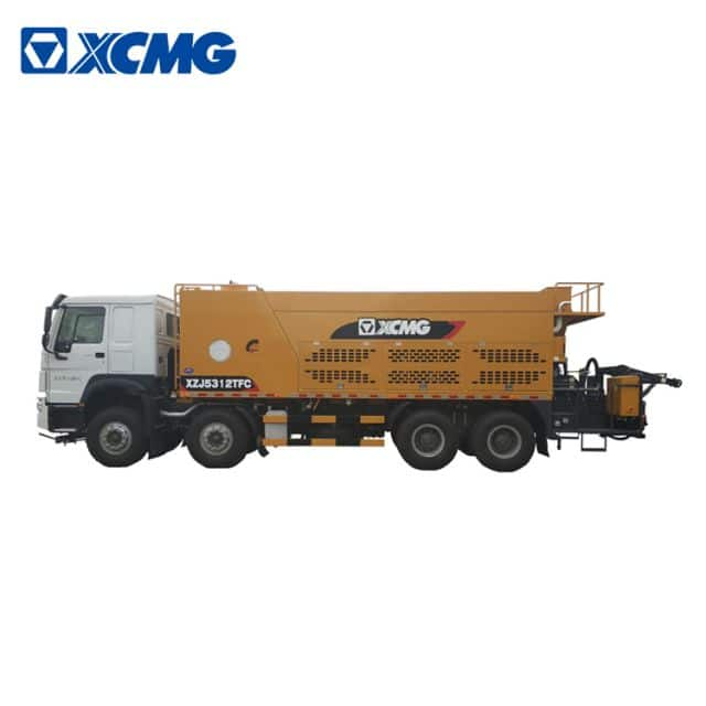 XCMG microsurfacing slurry sealer truck XZJ5312TFC China asphalt road repair machines