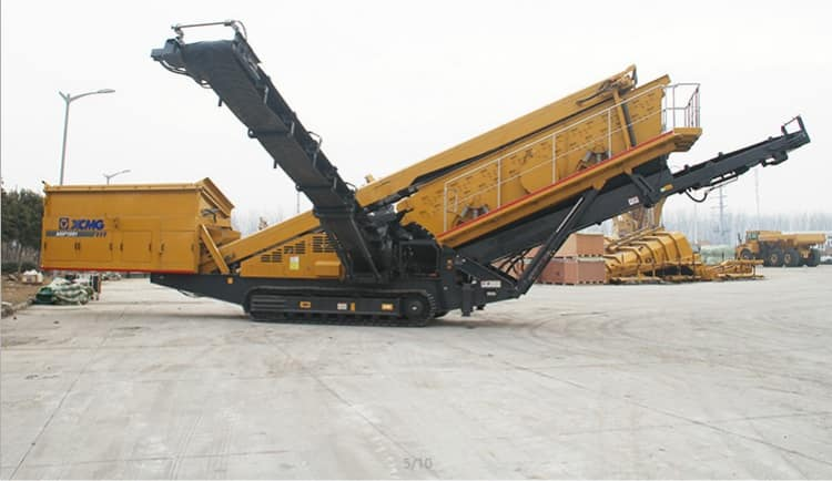 XCMG Official Mining Machinery 205 HP Mobile Screening Plant Mobile XFT1860 For Sale