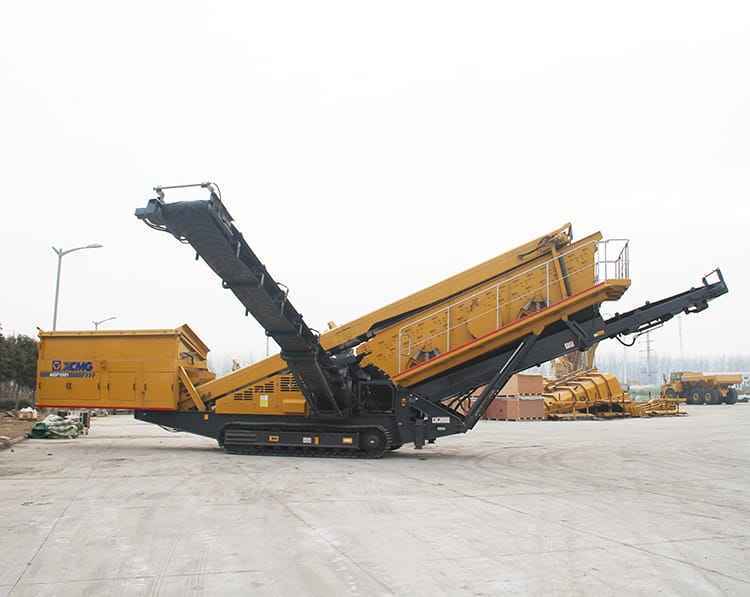 XCMG Mobile Stone Crusher 127hp Mobile Sand Screening Plant XFY1548 With Cummins Engine For Sale