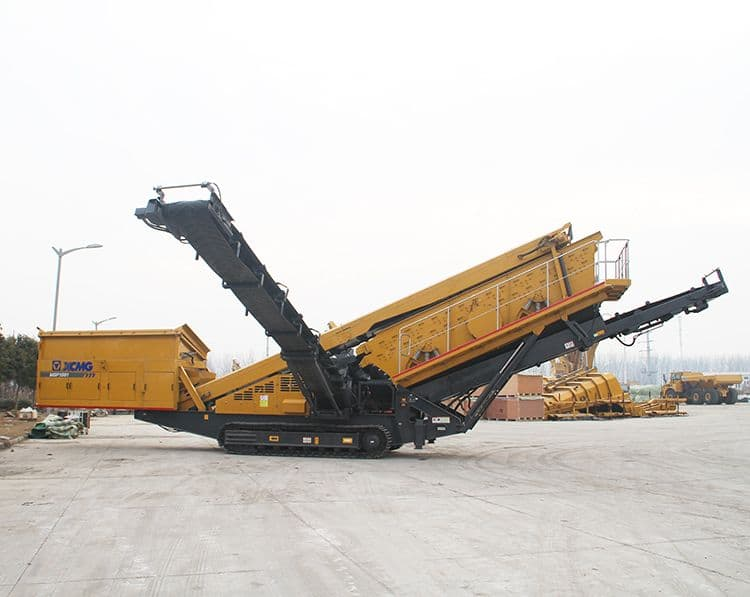 XCMG Mobile Jaw Crusher132 HP Plant Screening XFY1561 For Sale