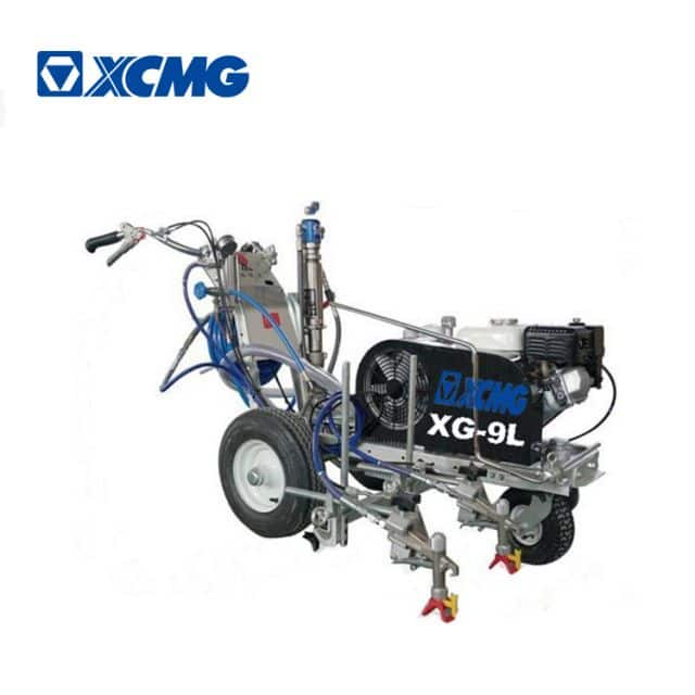 XCMG LXD-9L hand push high pressure hydraulic airless cold paint road marking machine