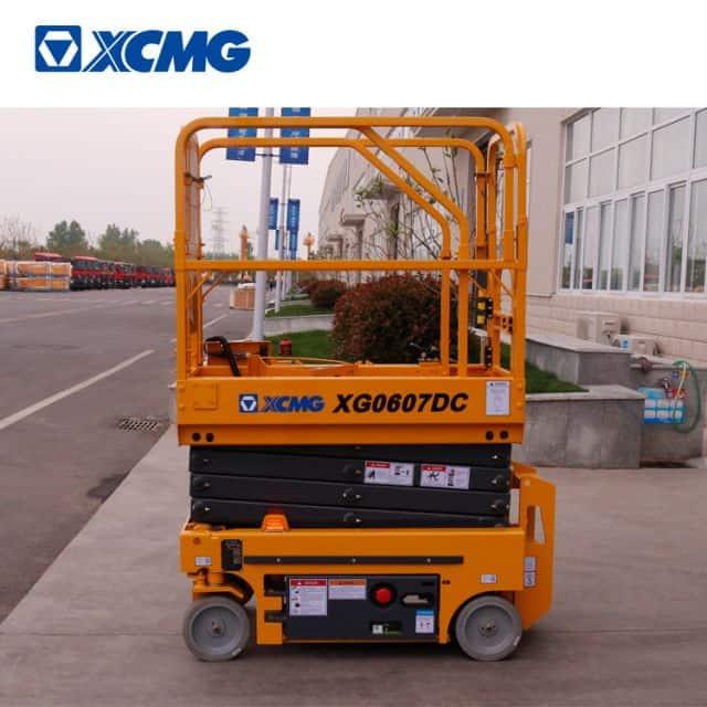 XCMG 6m hydrolic scissor arial platform lift electric XG0607DC