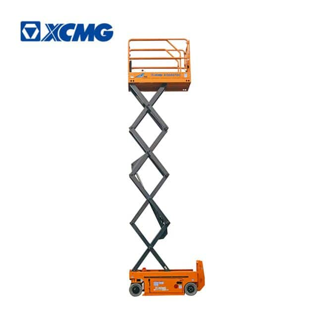 XCMG official 8m small electric drive scissor lift mobile machine XG0807DC factory price for sale