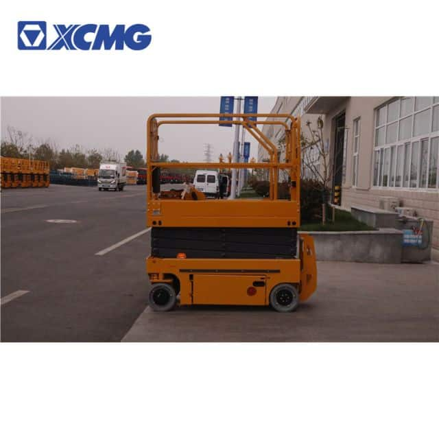 XCMG electric small 8m scissor lift platform XG0807DC price