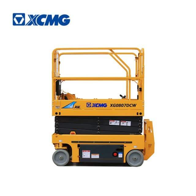 XCMG official manufacturer 8m mini china electric drive scissor lift XG0807DCW machine price