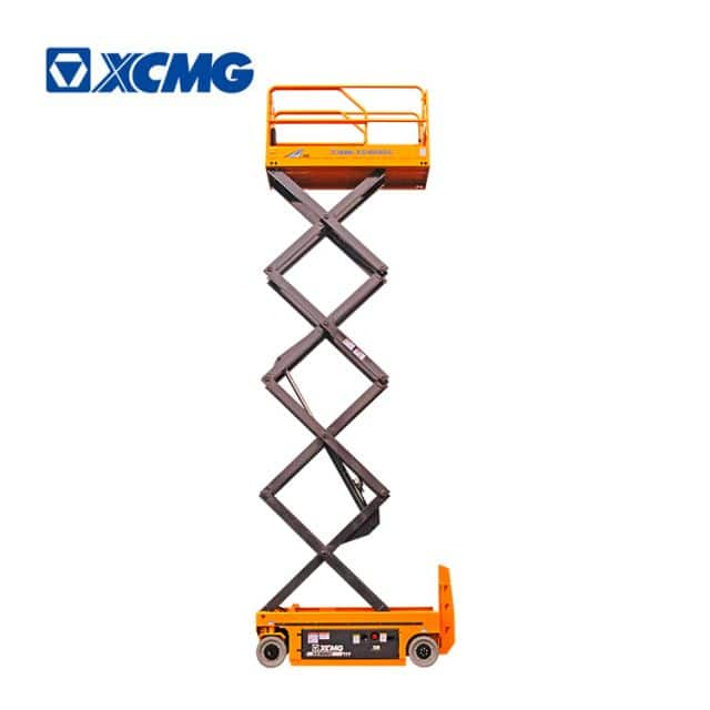 XCMG official 10m self propelled electric scissor lift XG1008DC equipment factory price for sale