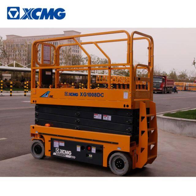 XCMG 10m electric drive scissor lift work platform XG1008DC hydraulic lift price