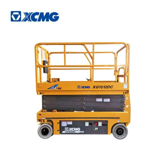 XCMG official 10m mobile electric drive scissor lift XG1012DC machine equipment price for sale