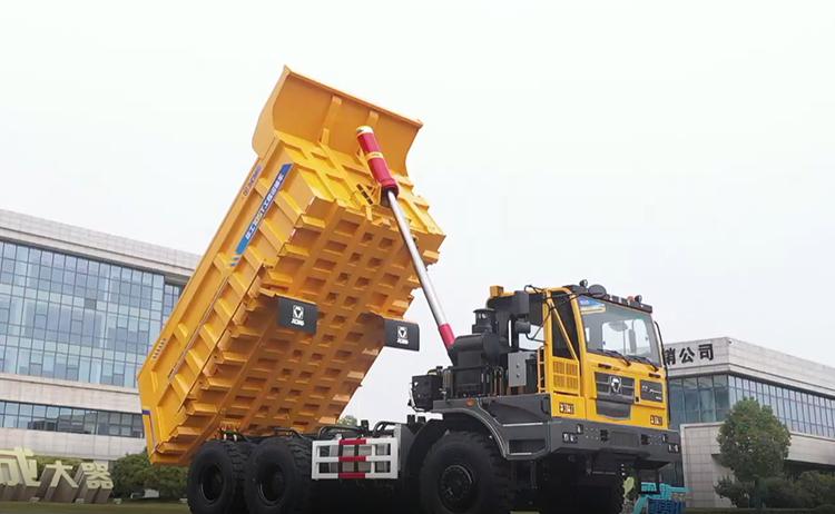 XCMG 100 ton off road widebody dump truck XG105 China new heavy mine dump truck
