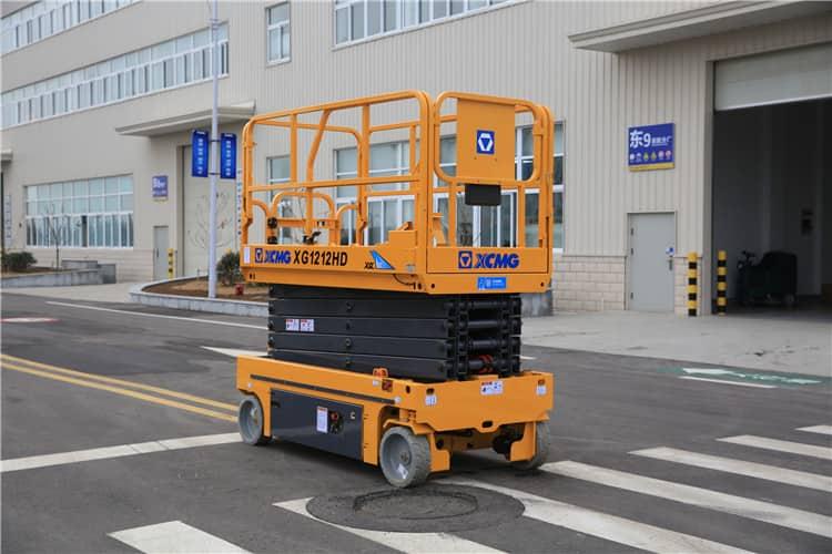 XCMG 12m hydraulic scissor lift platform table XG1212HD