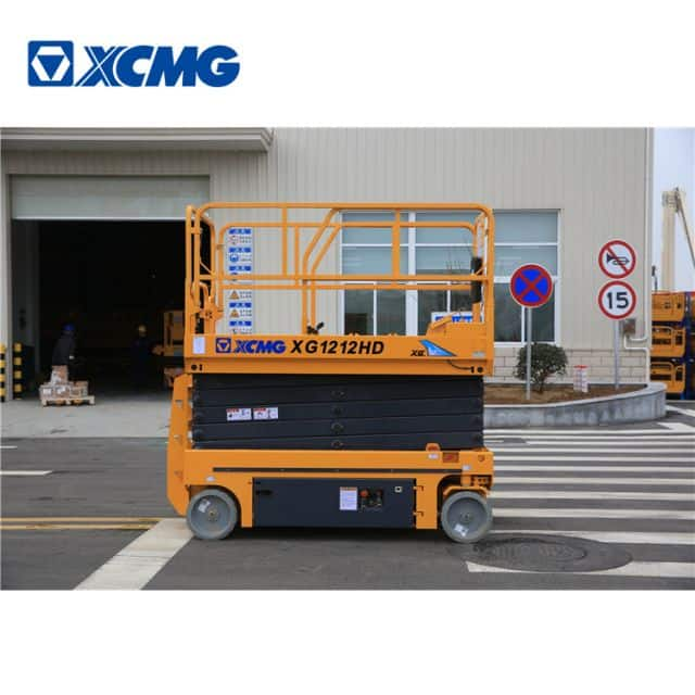 XCMG 12m hydraulic scissor lift platform table XG1212HD