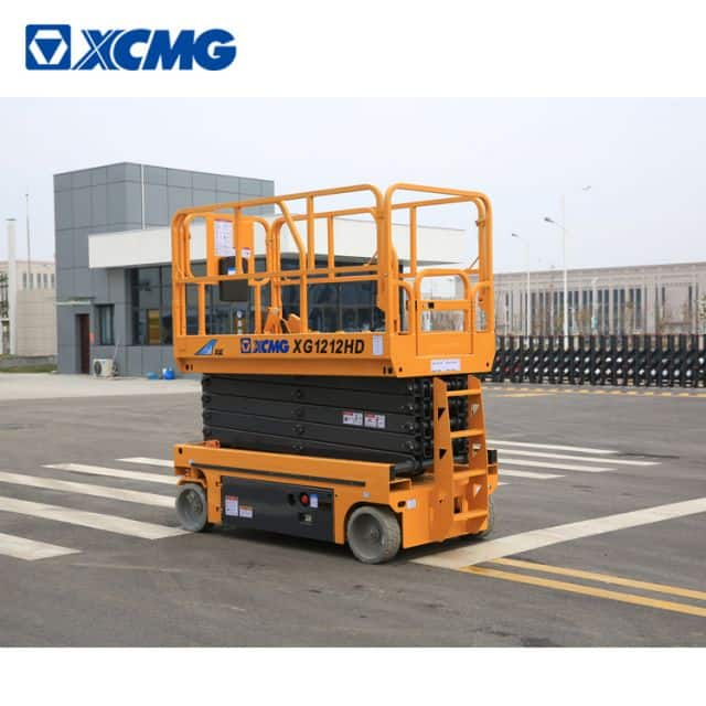 XCMG Manufacturer XG1212HD China Brand New 12m Hydraulic Mobile Scissor Lift for Sale