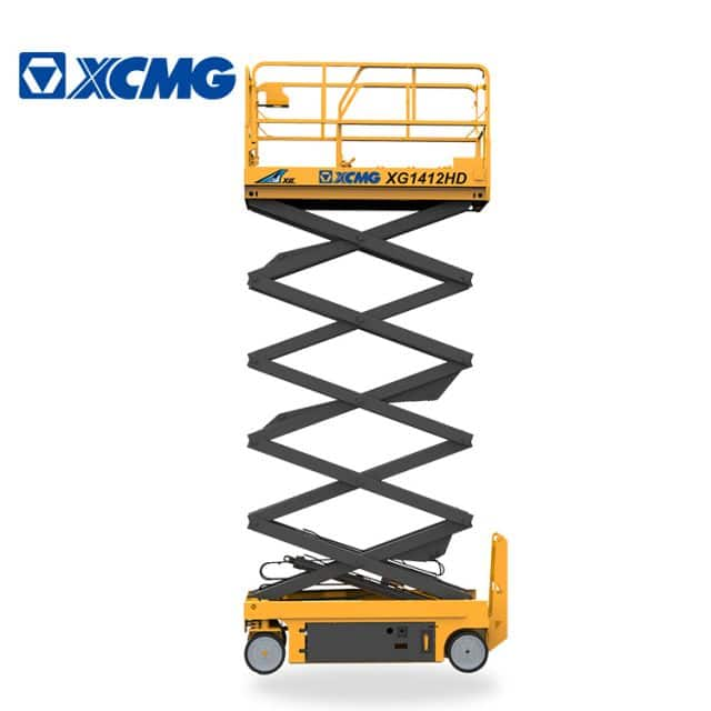 XCMG manufacturer 14m hydraulic scissor lift electric XG1412HD auto aerial work platform for sale