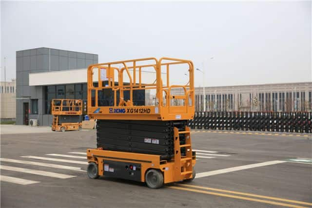 XCMG manufacturer 14m XG1412HD hydraulic scissor lift price