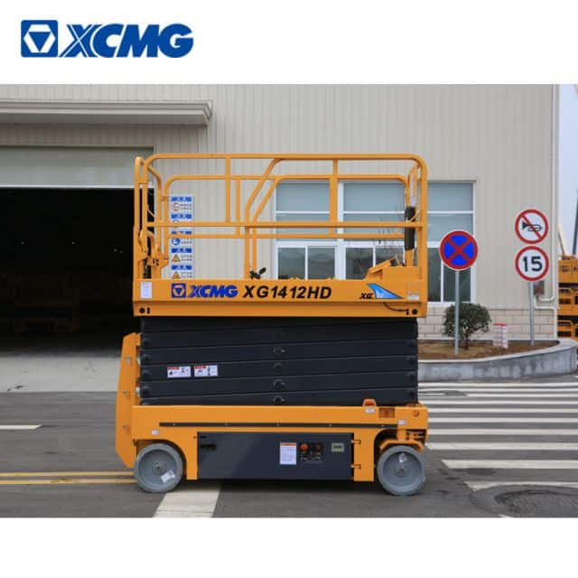 XCMG XG1412HD 14m hydraulic scissor lift elevated work platform price