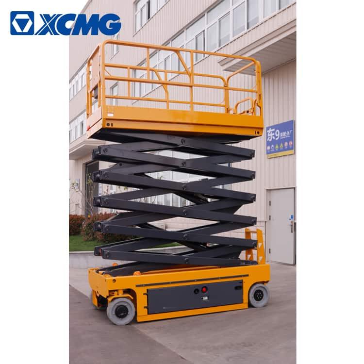 XCMG manufacturer 16m electric scissor lift platform XG1612DC price