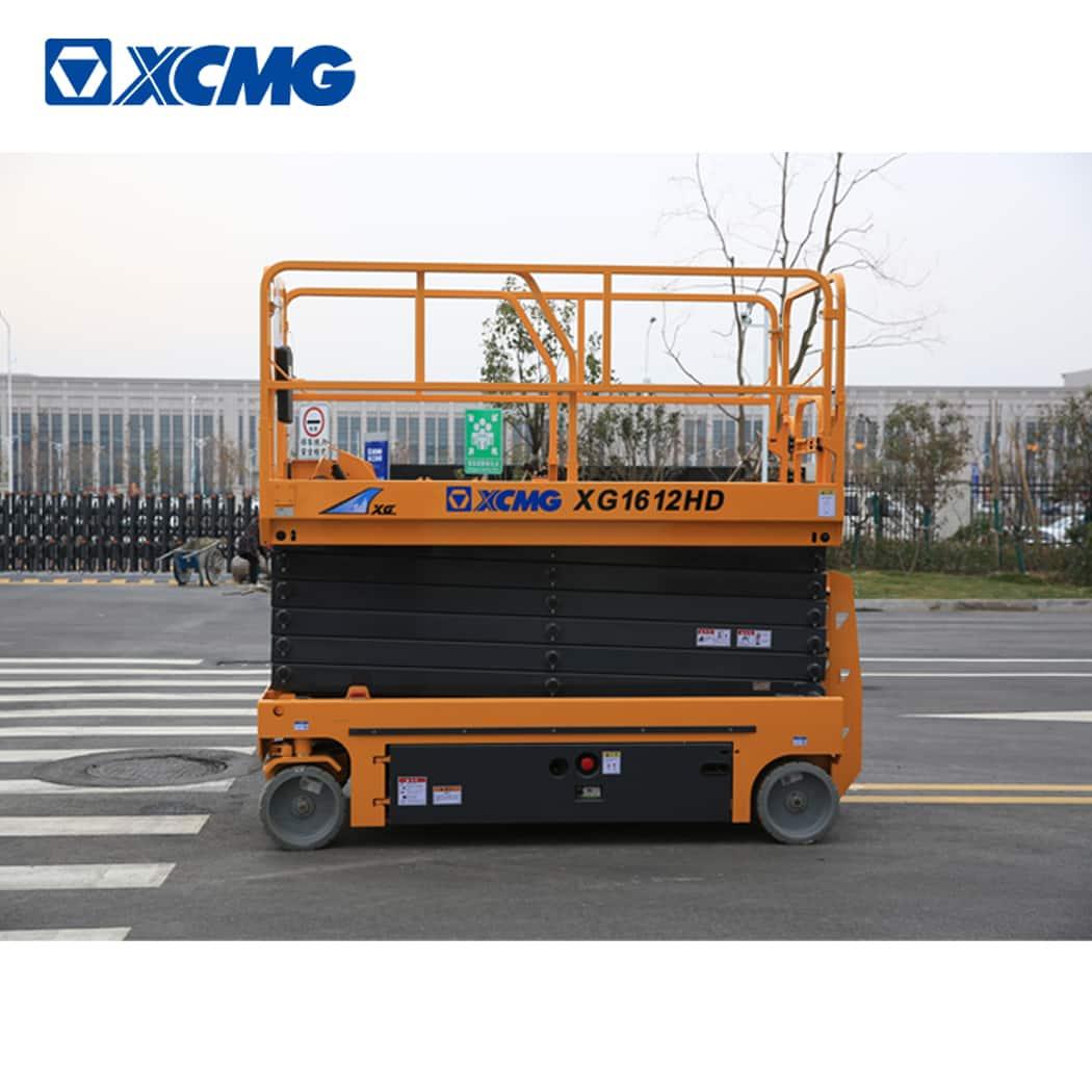 XCMG 16m self propelled hydraulic scissor lift XG1612HD