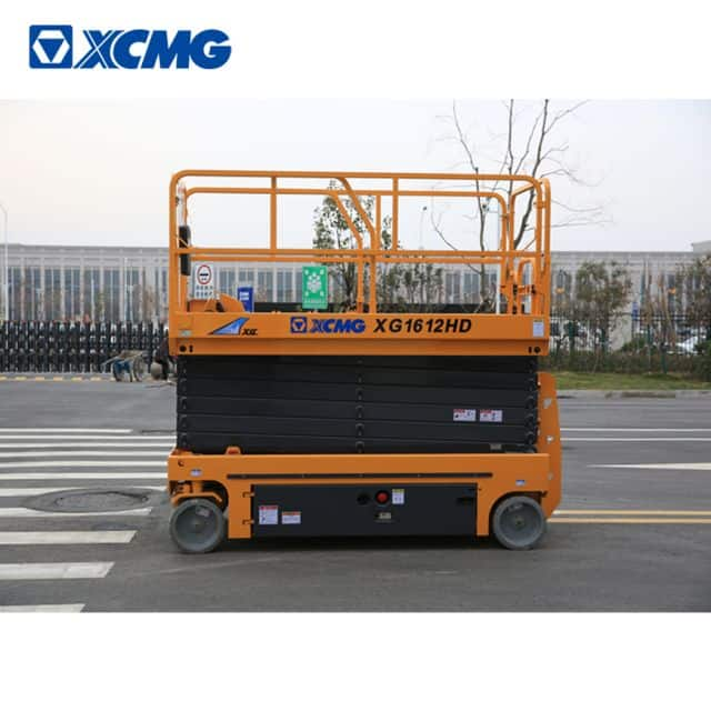 XCMG 16m self propelled hydraulic scissor lift XG1612HD