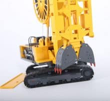 XCMG Diaphragm Wall Grab XG450D Model (1:35)