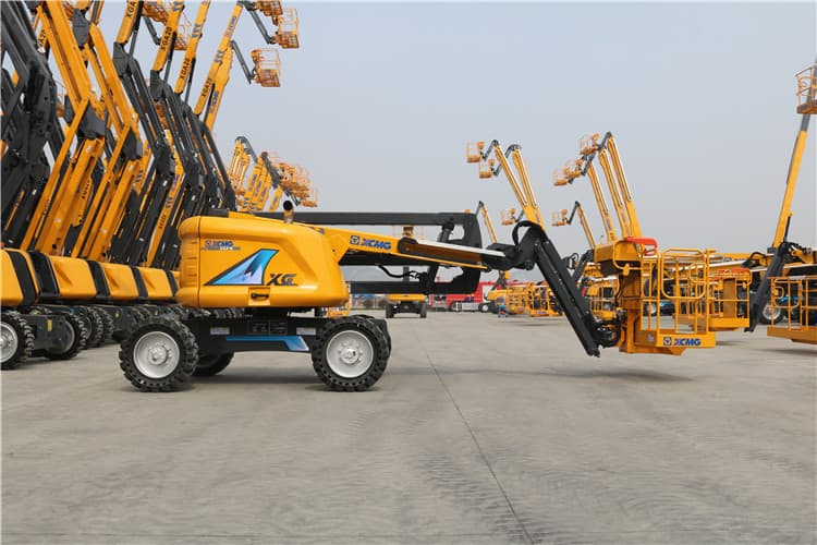 XCMG 16m AWP XGA16 electric articulated boom aerial work platform price