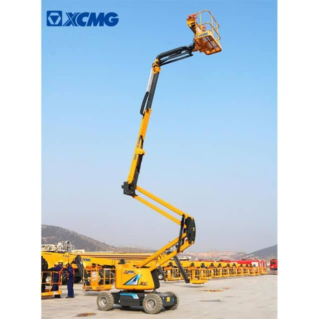 XCMG official boom lift XGA16 small articulated boom lift for sale