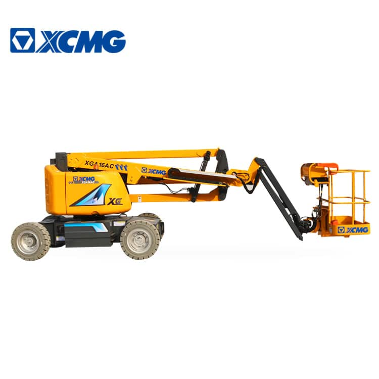 XCMG official 16m mobile electric articulated boom lift XGA16AC self-propelled aerial work platform
