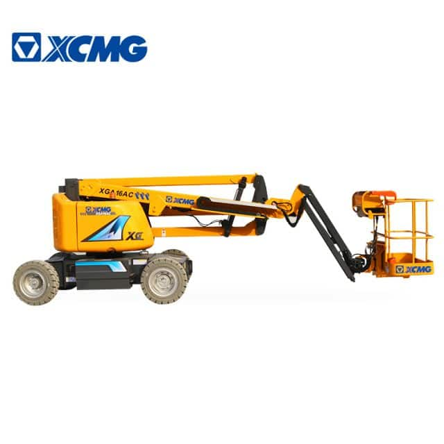 XCMG official 16m mobile electric articulated boom lift XGA16AC Aerial Work Platform price