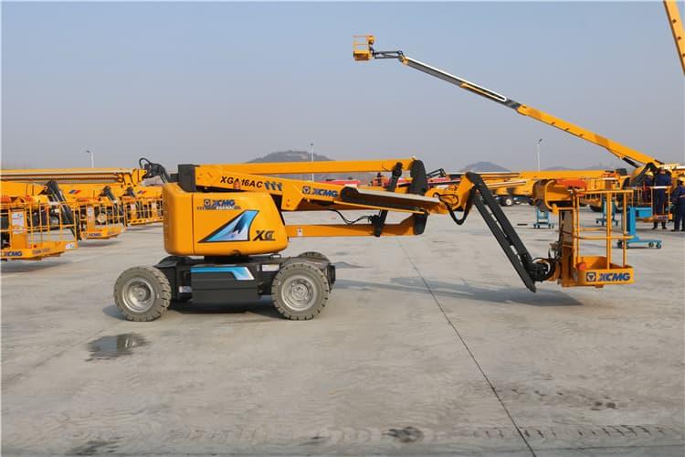 XCMG Brand XGA16 China 16m New Hydraulic Mobile Aerial Work Platform for Sale