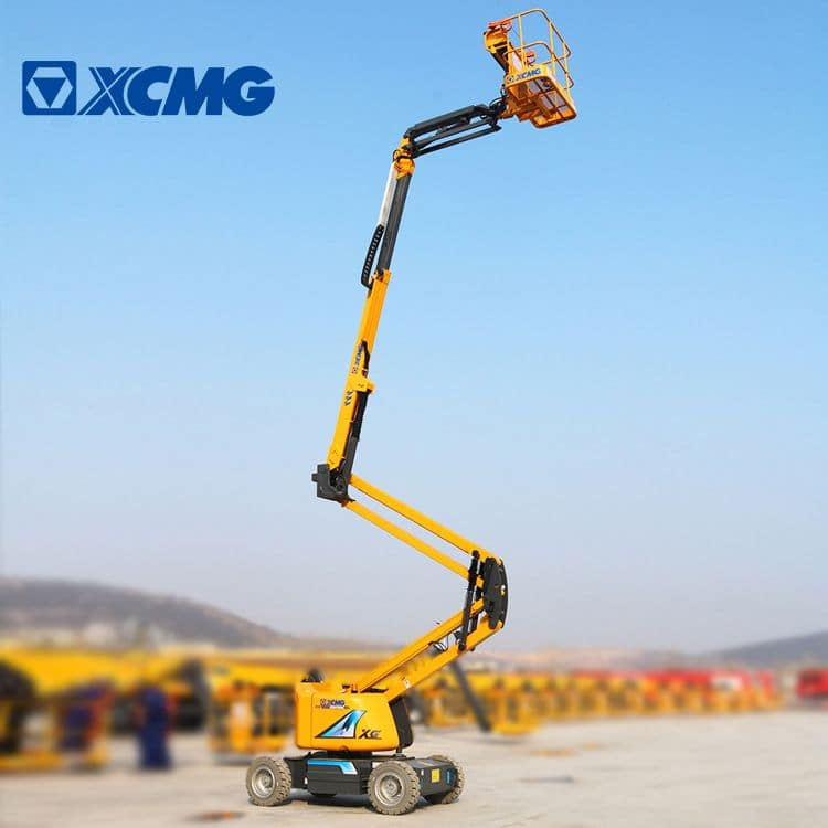 XCMG self propelled 20m XGA20 aerial articulated work platform for sale