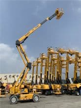 XCMG 20m aerial boom lift towable articulated hydraulic XGA20AC for sale