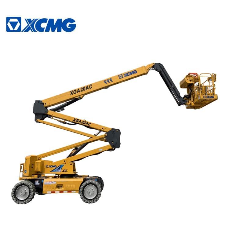 XCMG official 20m electric articulating boom lift XGA20AC price