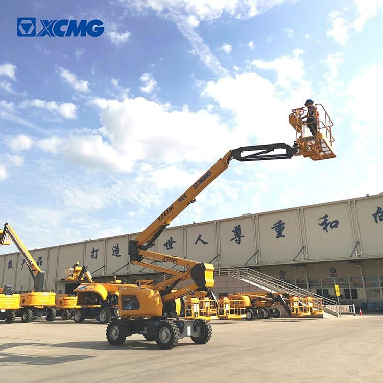 XCMG official 20m towable hydraulic articulating boom lift XGA20K price
